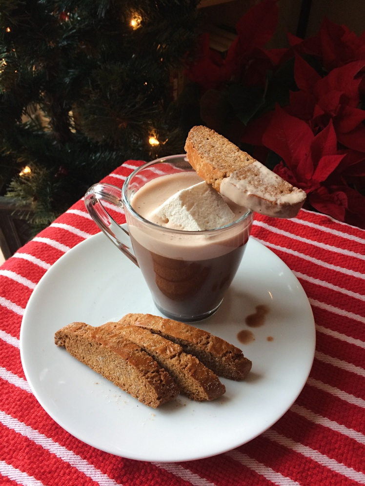 Gingerbread-biscotti-dipped