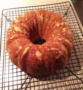 lemon bundt cake un-iced